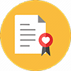 marriage license icon
